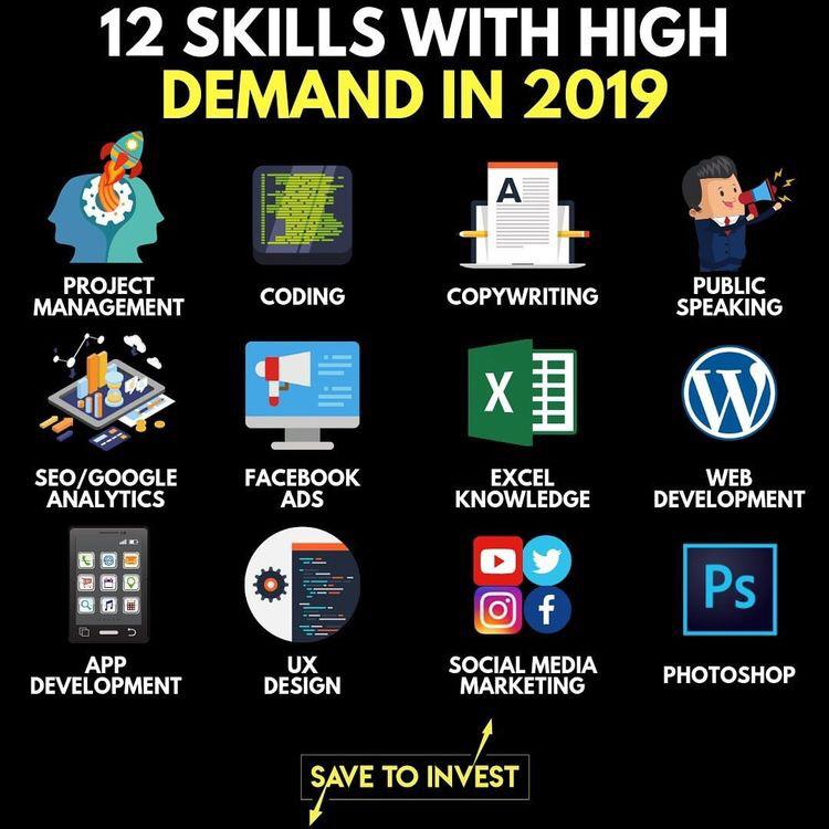 12 Skills in High Demand _ 2019