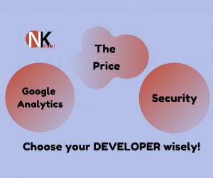 Developing a Website? The price you should pay, SSL & analytics (part 4)
